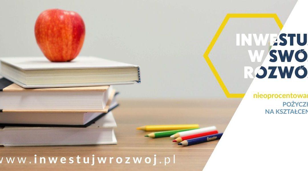 Inwestuj w rozwój – pożyczki na kształcenie